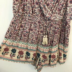 American Eagle Outfitters Pants - American Eagle Boho floral print Romper XL